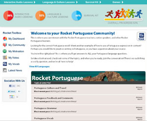 rocket portuguese online program