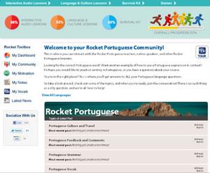 rocket portuguese online program