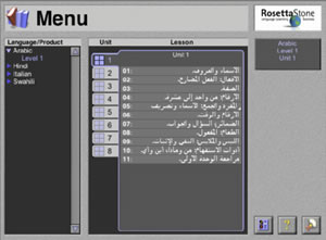 rosetta stone arabic learning review