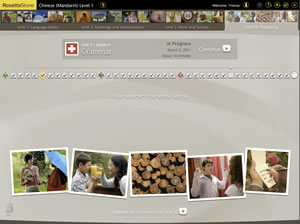 rosetta stone chinese social interactions