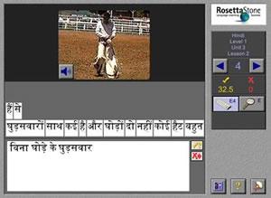 rosetta stone hindi learning methods