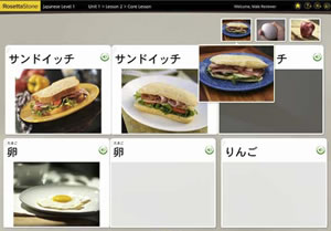 rosetta stone japanese audio visual