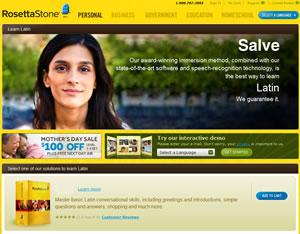 rosetta stone latin website