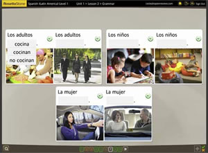 rosetta stone spanish methodology