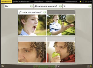 rosetta stone spanish learning